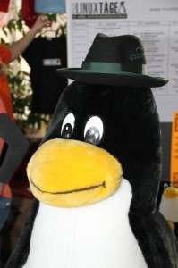 tux with hat