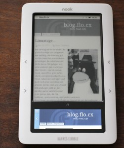 the nook browser