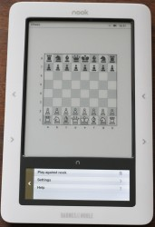 play chess on the nook