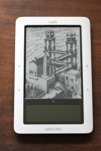 nook mit screensaver