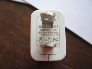 the nook power supply supports 240V