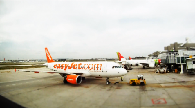 Video: Lisbon Airport Fake Tilt Shift…