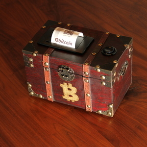 The Bitcoin Paper Wallet Treasure Chest