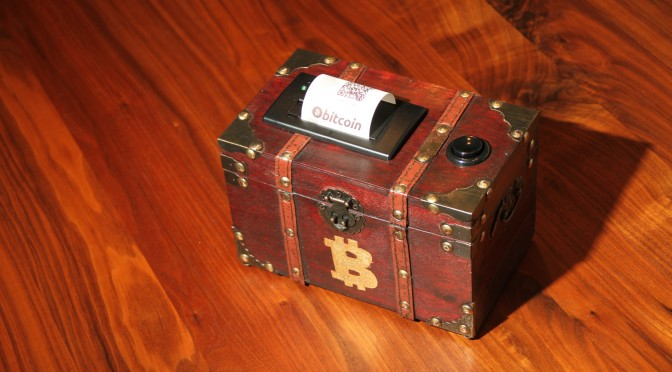 Bitcoin Paper Wallet Treasure Chest…
