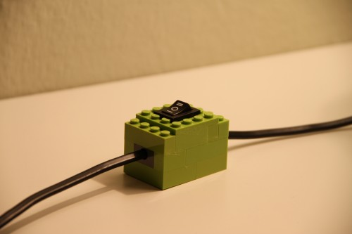 Lego Lamp Switch