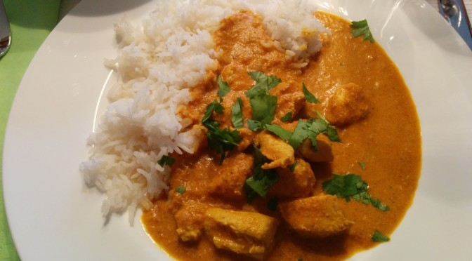 Butterchicken…
